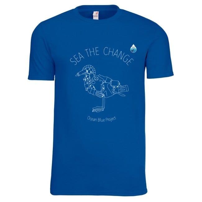 Ocean Themed Clothing Save The Ocean Birds Shirt (Unisex)