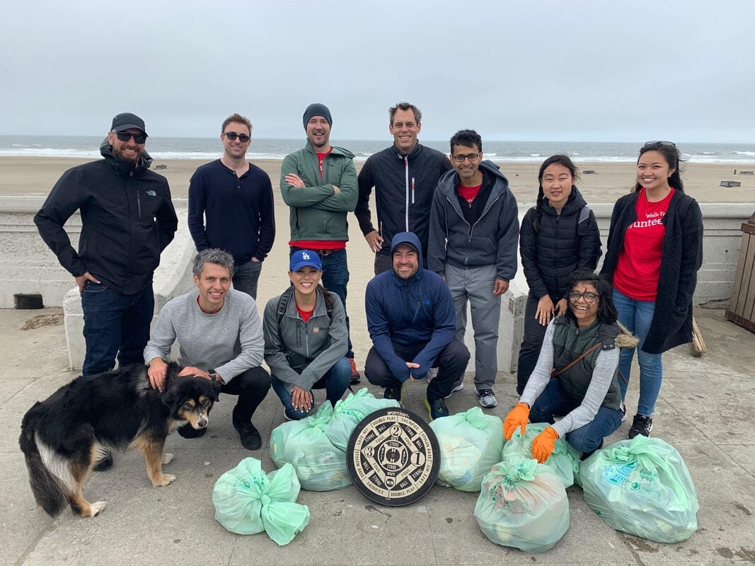 Beach-Cleanup-Volunteer-Create-A-Cleanup-Partnership-with-Wells-Fargo