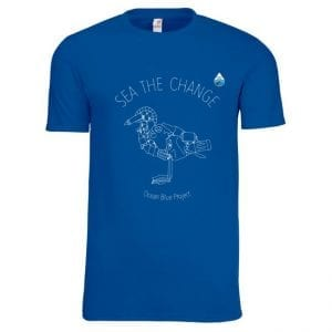 Sea The Change Bird Design T-shirt