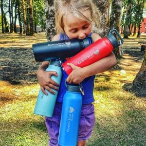 Eco-Friendly-Reusable-Water-Bottle-Red-Black-Mint-and-Blue