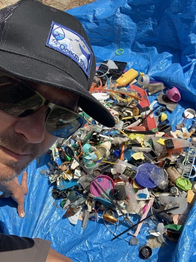 Support Microplastics removal projects