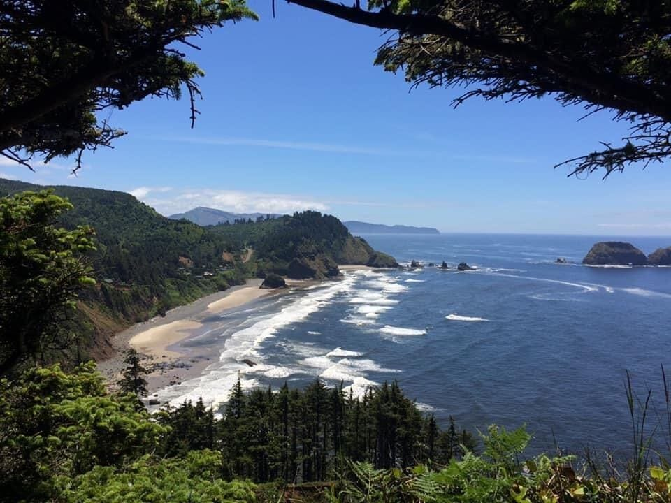 photo of a oregon beach