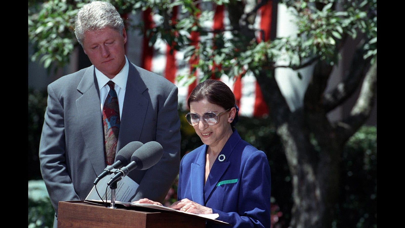 Ruth-Bader-Ginsburg-impact-on-the-environment-bill-Clinton