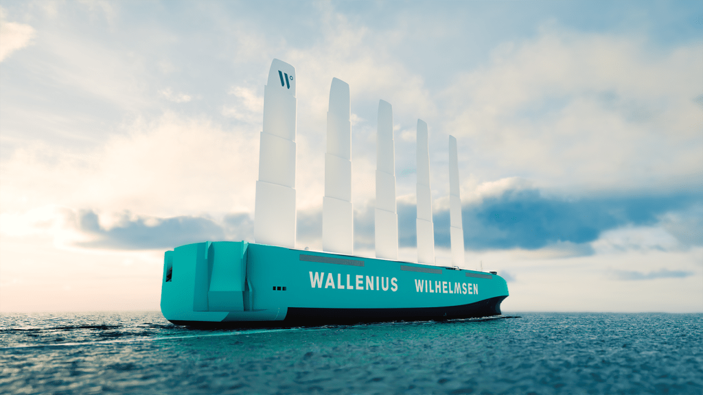 Wind-Powered Cargo Ship To Blow CO2 Emissions Away