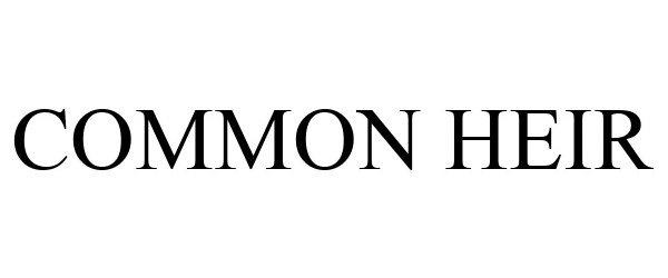 Common Heir Ocean Blue Cleanup Sponsor